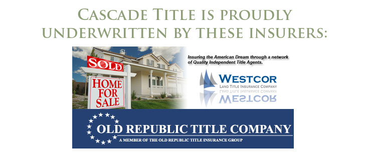 Cascade Title's Underwriters