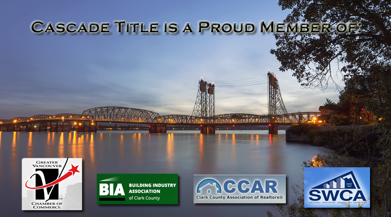 Cascade Title is a Proud Member of: